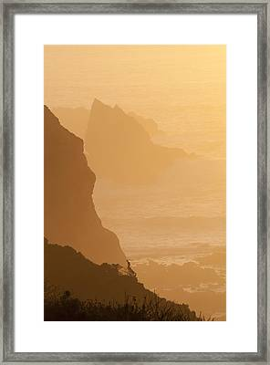 Big Sur Sunset Framed Print
