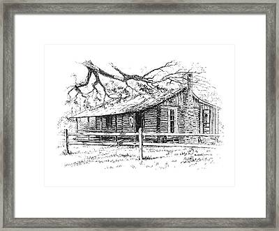 Big Thicket Information Center Framed Print