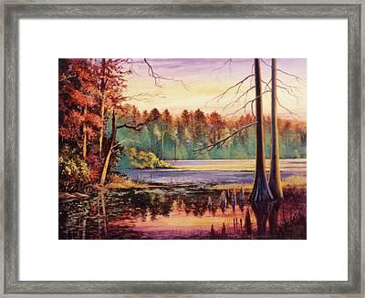Big Thicket Swamp Framed Print