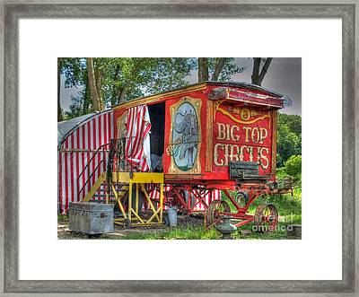 Big Top Circus II Framed Print
