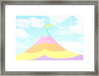 Big Top In The Sky Framed Print