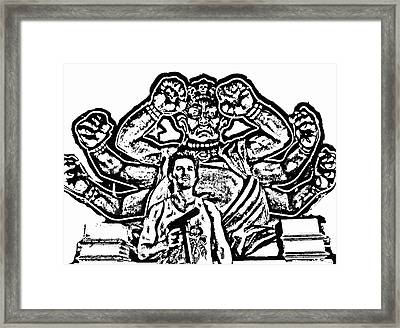 Big Trouble In Little China Framed Print by Jeff DOttavio