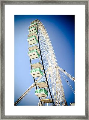 Framed Print featuring the photograph Big Wheel by Jason Smith