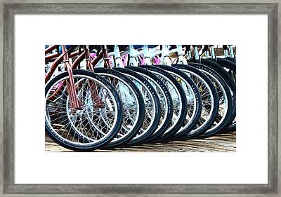 Big Wheels Framed Print by Floyd Snyder