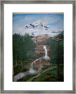 Big White One Framed Print by Jack Hampton