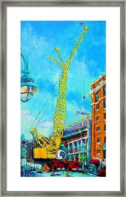 Big Yellow Framed Print