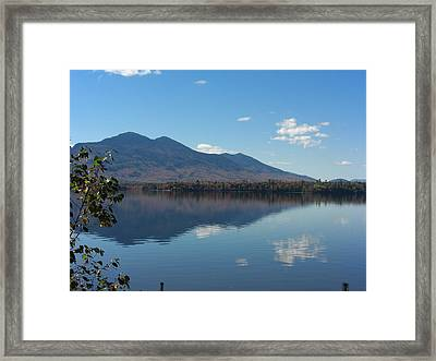 Bigelow Mt View Framed Print
