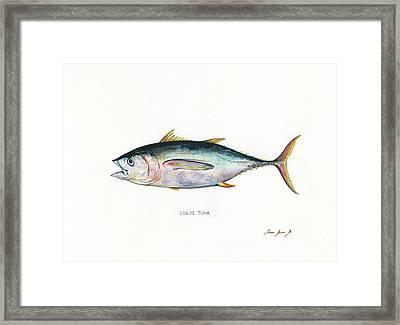 Bigeye Tuna Framed Print