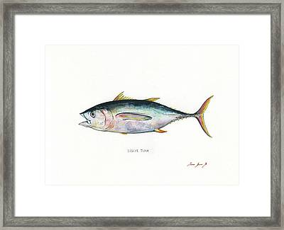 Bigeye Tuna Framed Print by Juan Bosco