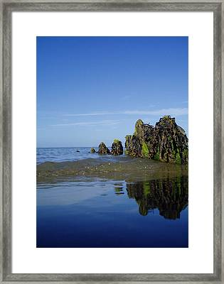 Bigger Blue Framed Print