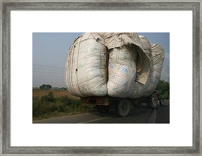 Bigger Is Better Framed Print by Andrei Fried
