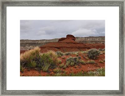 Bighorn Canyon National Recreation Area Framed Print by Ralf Broskvar