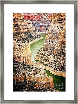 Bighorn River Framed Print