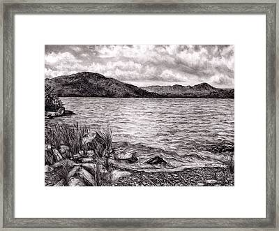 Big Wood Lake Framed Print