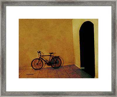 Bike Art Framed Print