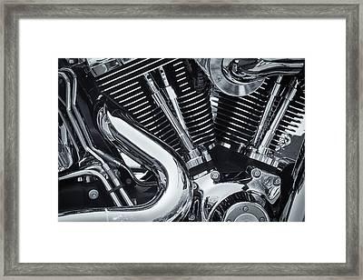 Bike Chrome Framed Print