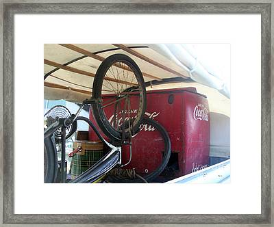Bike Cola  Framed Print by Steven Digman