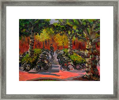 Bike Park Framed Print