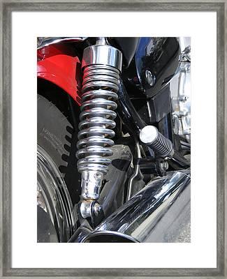 Bike Parts 04 Framed Print by Attila Jacob Ferenczi