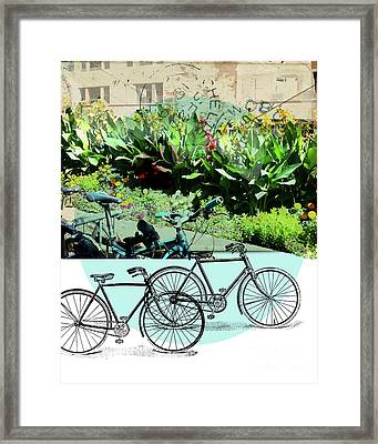 Bike Poster Framed Print