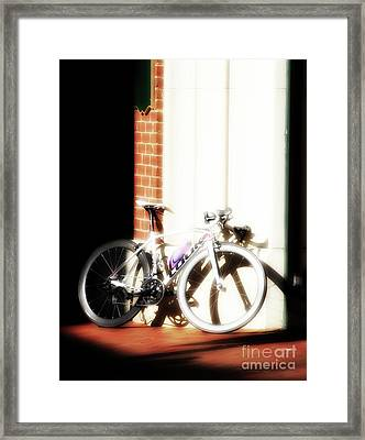 Bike Sugar  Framed Print by Steven Digman