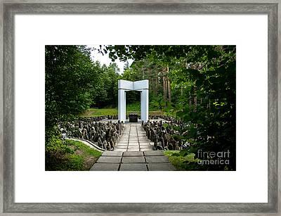 Bikernieki Memorial Framed Print by RicardMN Photography
