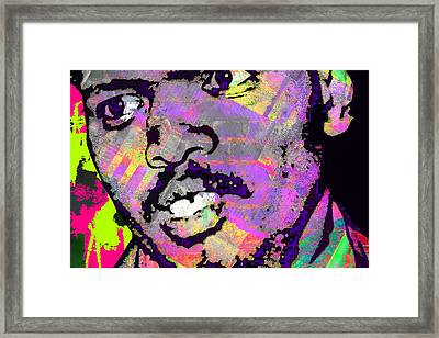 Biko Colours Framed Print