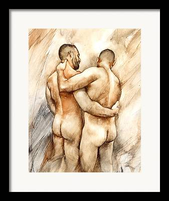 Gay Bear Framed Prints