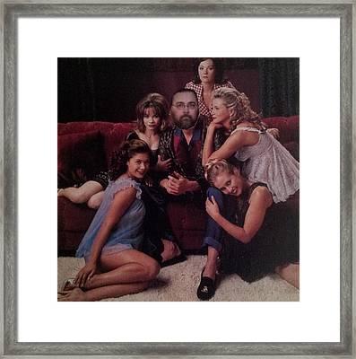 Bill As Playboy Framed Print