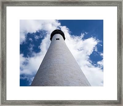 Bill Baggs Lighthouse Cape Florida State Park Framed Print