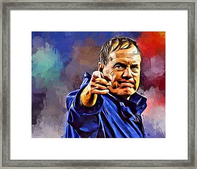 Bill Belichick Framed Print