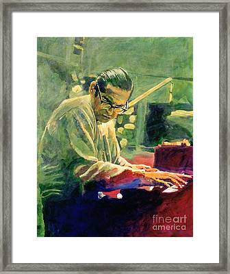Bill Evans Quintessence Framed Print by David Lloyd Glover