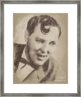 Bill Haley, Music Legend By John Springfield Framed Print