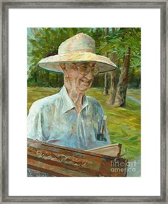 Bill Hines The Legend Framed Print