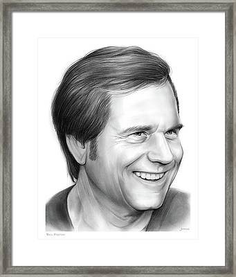 Bill Paxton Framed Print by Greg Joens