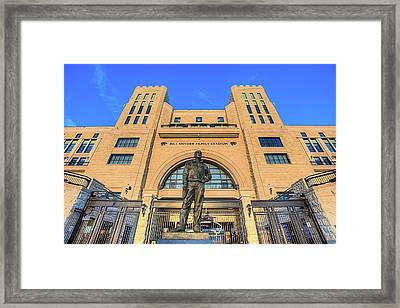 Bill Snyder Family Stadium  Framed Print by JC Findley