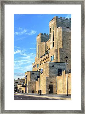 Bill Snyder Stadium Framed Print by JC Findley