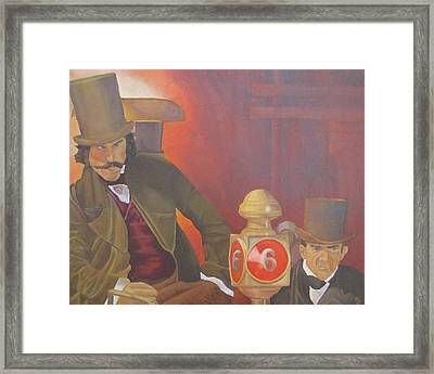 Bill The Butcher Framed Print by Michael Holmes