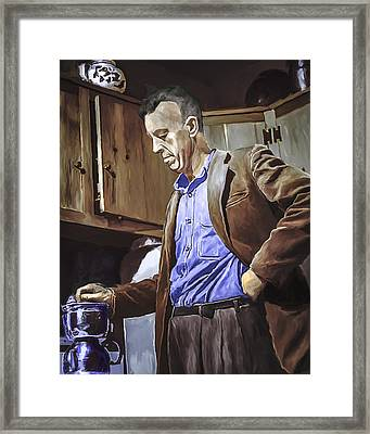 Bill Wilson Framed Print