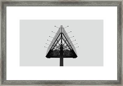 Billboard Framed Print by Vis  Felavis