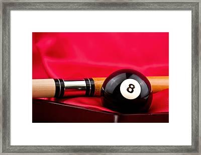 Billiards Framed Print