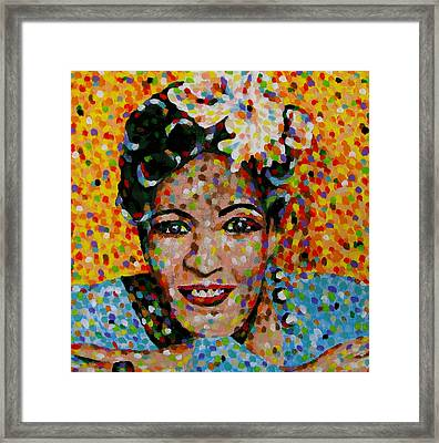 Billie Framed Print by Denise Landis