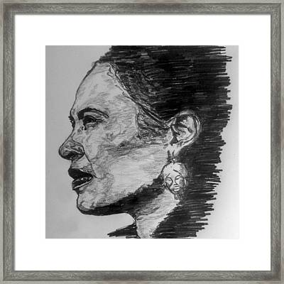 Billie Holiday Framed Print