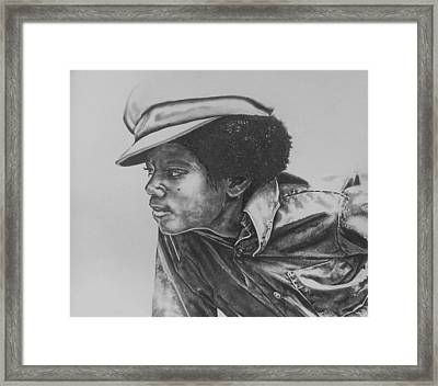 Billie Jean - Michael Jackson Framed Print by Jeleata Nicole