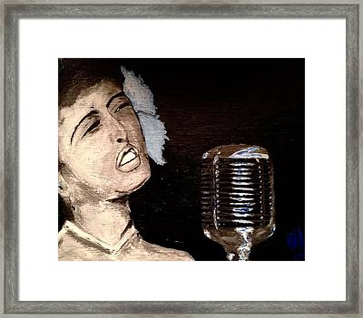 Billie Framed Print by Nick Young