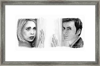 Billie Piper And David Tennant Framed Print