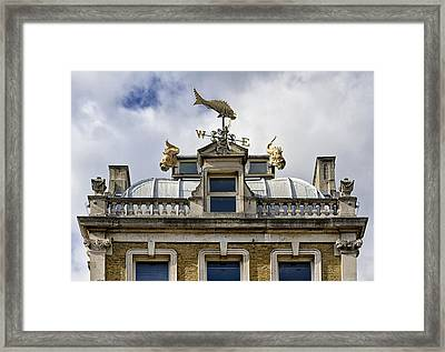 Billingsgate Fish Market London Framed Print