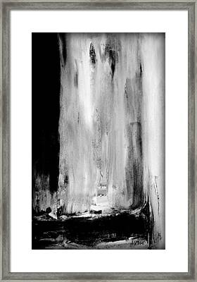 Billowing At Midnight Framed Print