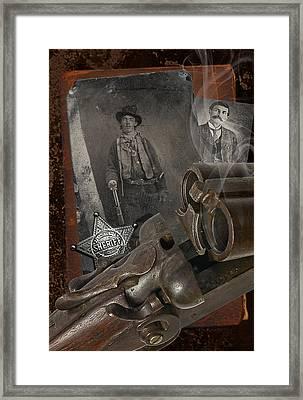 Billy And Pat Framed Print by Robert Hudnall