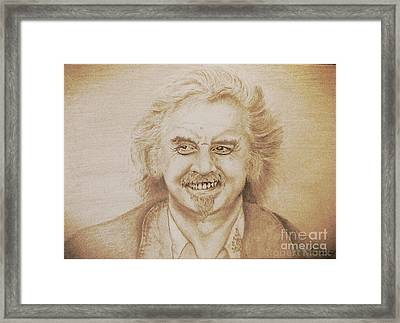 Billy Connolly Framed Print